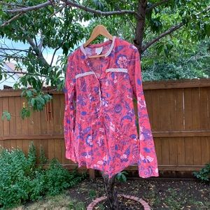 Anthropologie Maeve Blouse Size 10